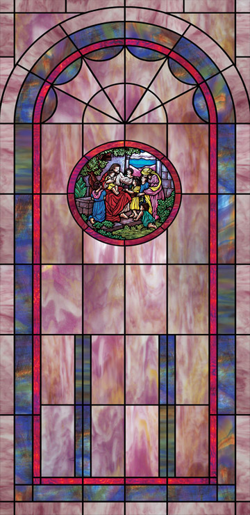 church window film